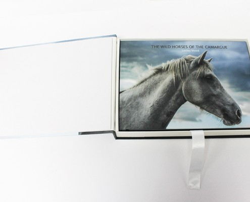 Hand-made presentation box